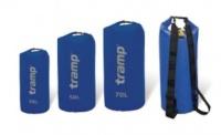Tramp гермомешок ПВХ 50 л TRA-068 (синий/оранжевый)