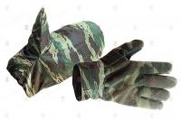 """Перчатки флисовые """"Рукавичка"""" с влагозащитными рукавицами"""