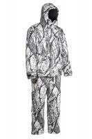 """Костюм зимний для охоты """"Памир"""" из мембранной ткани Алова (цвет """"Белый лес ветки"""") со снегозащитными гетрами"""