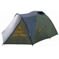 Палатка трекинговая двухместная Canadian Camper KARIBU 2 (forest)