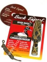 Манок на уток нырковых с CD камуфляжный (Buck Expert, Канада) 78DC-T