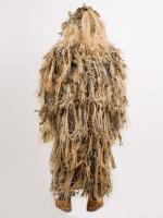 Халат маскировочный «Шаман» с элементами из натурального лыка (камыш)