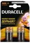 Батарейка DURACELL AAА (4 шт)