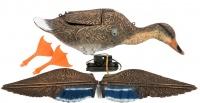 Механическое чучело утки кряквы для охоты машущее крыльями Спорт Пласт SFLD 02 LC