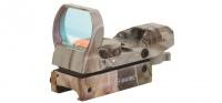 Коллиматорный прицел Sightmark открытый панорамный, 4 марки, крепление на планку 11 мм (ласточкин хвост), камуфляжный SM13003C-DT