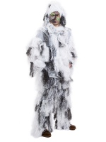 Маскировочный костюм-леший Ghillie WHITE (белый) (MIL-SPEC)