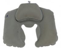 """Подушка надувная под шею """"Комфорт"""" SLI-012 (серый)"""