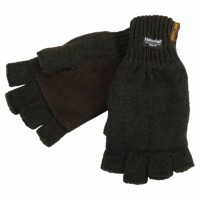 Перчатки JahtiJakt Half finger gloves brown (JahtiJakt, Финляндия) JJ6309P868