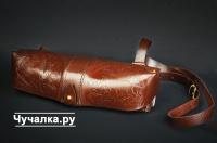 Патронташ 24х12 двухрядный (кожа)