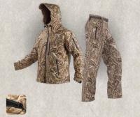 """Мембранный демисезонный костюм виндстопер """"Тигр"""" для охоты и рыбалки (цвет NW1)"""
