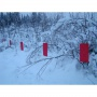 Флажки для облавной охоты на волка 1 км. арт. 140100