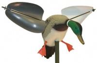 Механическое чучело селезня кряквы машущей крыльями Wind HW7301