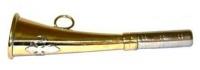 Горн охотничий (латунь) 16 cм, плоский 16flat