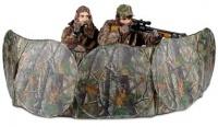 Засидка-укрытие на 2 человека 73x368 см, камуфляж листва Realtree Hardwood