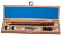 Набор для чистки в деревянной коробке, калибр 12 250.0012