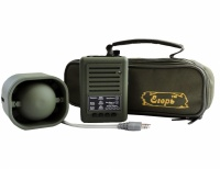 """Электронный манок (звукоимитатор) """"Егерь-56D"""" (Егерь-56.03) с активным динамиком Егерь (АВЗМ), сумкой и защитными чехлами"""