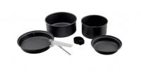 Набор туристической посуды ADRENALIN Iron Tribe (2 кастрюли, 2 сковороды)