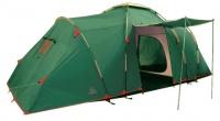 Палатка Tramp Brest 4 кемпинговая четырехместная двухслойная (зеленый) TRT-065.04