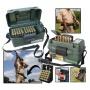 Кейс с ремнем для переноски и хранения 100 патронов 12-16 кал. (MTM, США) SH-100-12-09