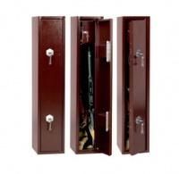 Сейф для охотничьего ружья на 2 ствола высотой до 990 мм и ящиком под патроны S1