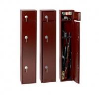 Сейф для оружия на 3-4 ствола высотой до 1290 мм и ящиком под патроны S5