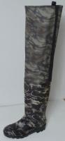 Сапоги ПВХ рыбацкие (забродные) 916 СРС  (камуфляжные)