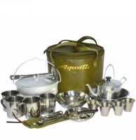Набор посуды для пикника на 4 персоны Aquatic ПН-01-4
