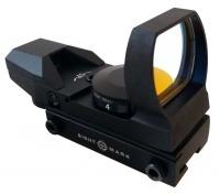 Коллиматорный прицел Sightmark открытый панорамный, 4 марки, крепление на планку 11 мм (ласточкин хвост), черный SM13003B-DT