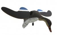 Электромеханическое чучело утки кряквы (селезень) машущее крыльями с пультом ДУ (Россия)