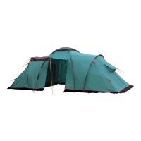 Палатка кемпинговая четырехместная Tramp Brest 4 (V2) (зеленый) TRT-82