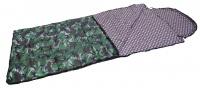 """Спальный мешок-одеяло с подголовником """"Аляска"""" (-10 С, ткань Таффета, цвет КМФ)"""