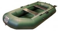 Надувная лодка ПВХ Фрегат М-3 гребная двухместная (л/т, зеленый)