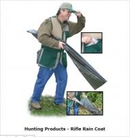 Непромокаемый пластиковый чехол для защиты ружья от дождя и сырости RRC