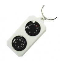 Sol компас-брелок с термометром SLA-003 пластик
