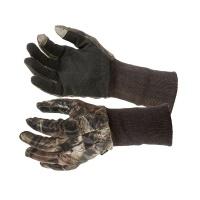 Перчатки камуфляжные для охоты из сетки Allen арт.1513