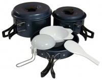 Набор посуды из анодированного алюминия на 2-3 персоны 023-T