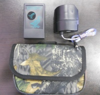 Электронный манок Биофон-9 (6 голосов утки) в комплекте с чехлом и динамиком 30 Вт