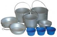 Набор посуды из алюминия TRC-002