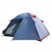 Палатка Sol Tourist трекинговая двухместная двухслойная (синий) SLT-004.06