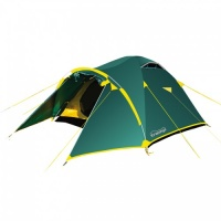 Палатка Tramp Lair 3 трекинговая трехместная двухслойная (зеленый) TRT-006.04
