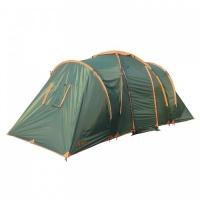 Палатка Totem Hurone кемпинговая четырехместная двухслойная (зеленый) TTT-005.09