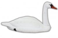Чучело белого лебедя (активный) 591AV (Sport Plast)