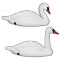 Чучело лебедя для охоты (2 шт) арт. (Sport Plast, Италия)