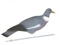 Полукорпусные чучела (скорлупки) лесного голубя (вяхиря) IM-208 (Sport Plast) 12 шт.